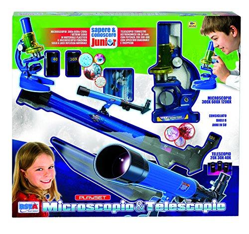Rstoys 8689 - Set Microscopio e Telescopio