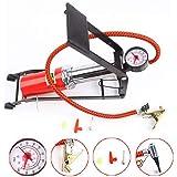 Kytaste High Pressure Foot Pump Bicycle Ball Motorbike Car Type Inflater Tire Air Pump