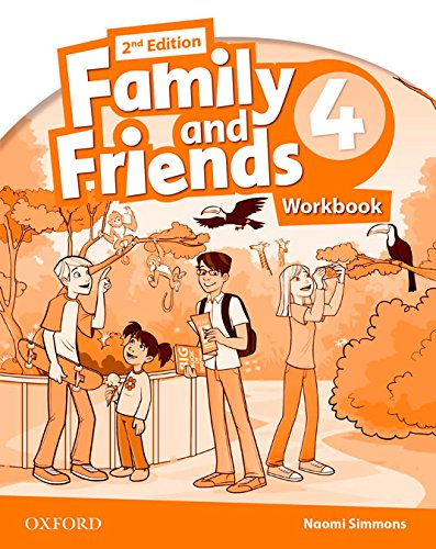 Family and Friends 4 Activity Book Exam Power Pack 2nd Edition (Family And Friends 2Ed) - 9788467393514 (Family & Friends Second Edition) por Naomi Simmons