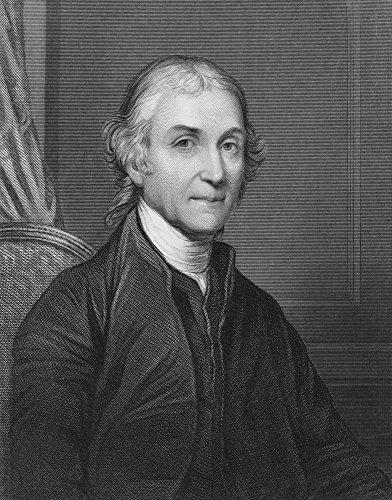 Joseph Priestley (1733-1804). /Nenglish Cleric and Chemist. Steel Engraving English 19Th Century. Kunstdruck (45,72 x 60,96 cm) - 19th Century Engraving