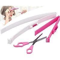 cococity 2 Stück Haarschneide Hilfe Clip, Frisurenhilfe Schere Haarschneidewerkzeug DIY Haarschnitt Klammern Styling…