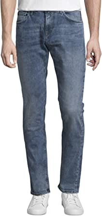 Tom Tailor Denim (NOS) Super Slim Piers, Jeans Gewaschen Uomo