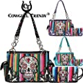 Blancho Bedding Womens [Rainbow Skull] PU Leather Fashion Bag Elegant Purse