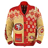 San Francisco 49ers Men's NFL Ugly Sweater Cardigan