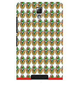 PrintDhaba Pattern D-1542 Back Case Cover for LENOVO A2010 (Multi-Coloured)