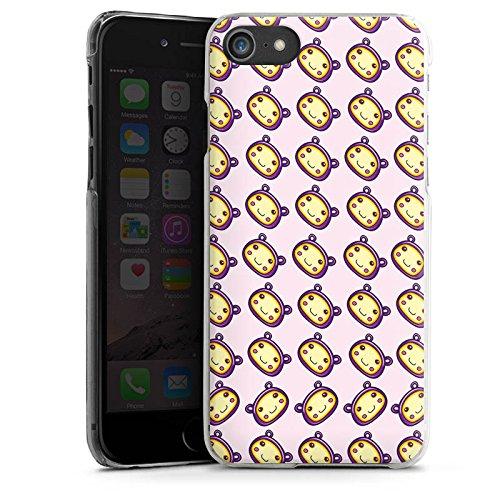Apple iPhone X Silikon Hülle Case Schutzhülle Muster Kawaii Manga Hard Case transparent