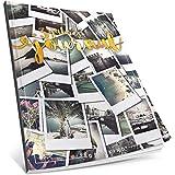 Dékokind® 3 Jahres Journal: Ca. A4-Format, 190+ Seiten, Vintage Softcover • Dicker Jahreskalender, Tagebuch für Erwachsene, Kalenderbuch • ArtNr. 18 Polaroid • Ideal als Geschenk