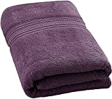 #5: Aakouton 900 GSM Bath Towels, Extra Large Luxury Bathroom Towel (40 x 60 inch), Made of 100% Premium Egyptian 0 Twist Cotton, Maximum Softness and Highly Absorbent, 0 twist Towel, Soft Luxury Bath Sheet, heavy, best and super absorbent. Extra Large Size. Bath Towels.