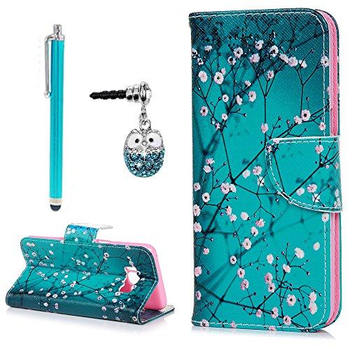 Lanveni Samsung Galaxy S8Stand Handy Tasche (Neues Modell), [Flip Wallet PU Leder...