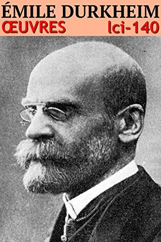 Émile Durkheim Oeuvres: lci-140