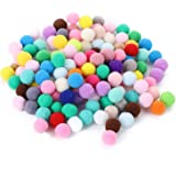 Petits Pompons Multicolores Rondes Pompons DIY Creative Décoration Pompons Mini Chat Jouets Balles pour Les Décorations l'Art