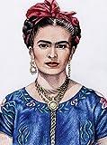 CALVENDO Puzzle Hommage an Frida Kahlo 2000 Teile Lege-Größe 67 x 90 cm Foto-Puzzle Bild von Nicole Zeug