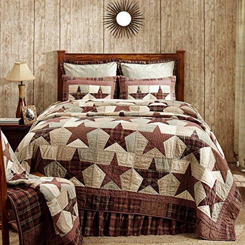 Lasting Impressions Abilene Star Bettwäsche von VHC Marken 120x105 bunt -
