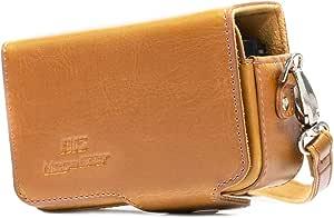 Megagear Ledertasche Mit Gürtelschlaufe Für Sony Elektronik
