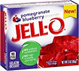 #5: Jell-O Pomegranate & Blueberry 85 Grms