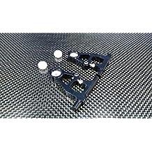 Tamiya TT-01D, TT-01 XB Pro Upgrade Parts Aluminium Front Upper Arm - 1Pr (Drift) Black