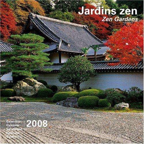 2008 Zen Gardens Large Calendar