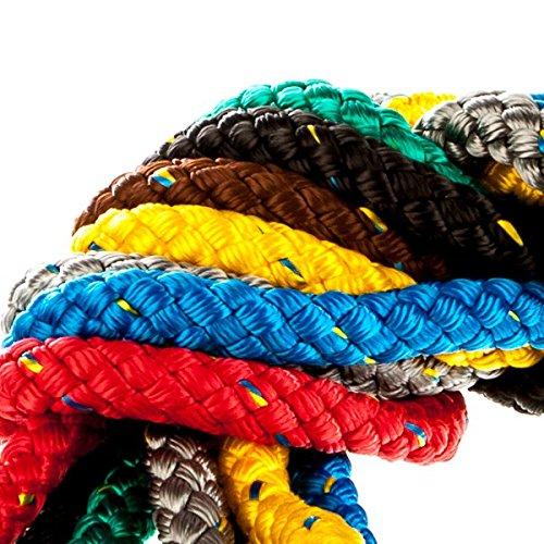 Guinzaglio Liros Nautic | traino corda | sci d' acqua | galleggiante | 1m, giallo, 14 mm
