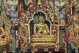 hansepuzzle 22282 Orte - Goldener Buddha, 2000 Teile in hochwertiger Kartonbox, Puzzle-Teile in wiederverschliessbarem Beutel