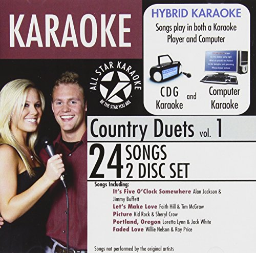 All Star Karaoke Country Duets Vol. 1 (ASK-87)