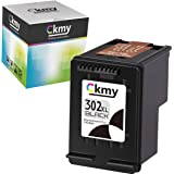 CKMY Remanufactured for HP 302 XL 302XL Cartucce Stampante 1 Nero per HP Officejet 5220 5230 3830 3831 3832 3835 4650 5252 52
