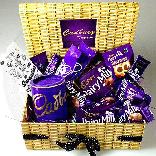 Cadbury Dairy Milk Chocolate Treasure Box - Ideal for Birthdays, Mothers Day, Fathers Day, Xmas, Thank you Gift