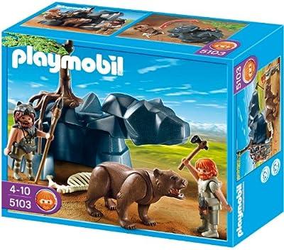 Playmobil 5103 - Höhlenbär mit Höhlenmenschen