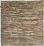 Nain Trading Ziegler Gabbeh 199x194 Orientteppich Teppich Quadratisch Beige/Dunkelbraun Handgeknüpft Afghanistan Design Teppich Modern