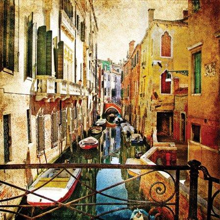 Servilletas/puntos/20 pcspackg/servilletas tecnología/Venece/Venecia/reactores/canales