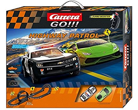 Carrera GO!!! 62371 Highway Patrol Set