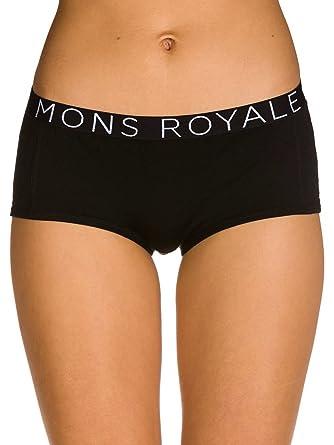 83fd419da607 Underwear Women Mons Royale Merino Sylvia Boyleg: Amazon.co.uk: Clothing
