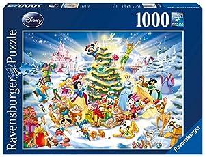 Ravensburger Disney Christmas Eve - Puzle (1000 Piezas), diseño de árbol de Navidad