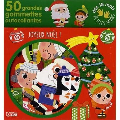 Gommettes pour les petites mains: Joyeux Noël ! - Dès 18 mois