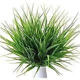 MIHOUNION 7 Forks Plante en plastique rustique Artificial Spring Verdure Faux plantes pour l'intérieur Accueil Table Cuisine Bureau Mariage Jardin Veranda Vert