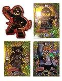 Serie 3 Ninjago Limitierte Gold Karten LE 16 LE 17 und LE 18 + Bonus Aufkleber Cole