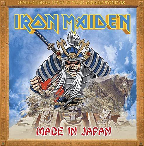 IRON MAIDEN Live in Yokohama SOMEWHERE BACK IN TIME TOUR 2008 Live 2CD set [Audio CD] (Iron Maiden Live)