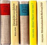 Konvolut 5 Titel: Ausgewählte Werke in Einzelausgaben: Bd. 1:Bauern, Bonzen und Bomben.// Band 2: Kleiner Mann-was nun?// Ban