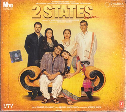 Preisvergleich Produktbild 2 States Hindi CD (Bollywood/2014/Music/Cinema) (2 states one love songs CD)