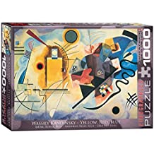 Eurographics Yellow, Red, Blue by Wassily Kandinsky Puzzle (1000 Pieces) by Eurographics