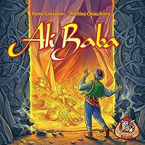 White Goblin Games Ali Baba Viajes/Aventuras Niños y Adultos - Juego de Tablero (Viajes/Aventuras, Niños y Adultos, 20 min, Niño/niña, 8 año(s), Alemán, Holandés, Inglés, Francés)