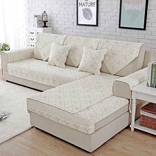 M&xgf copridivano salvadivano per divano con penisola/letto copertine,del sofà per il salone copre per cani,couch protector -1 pezzo-b 90x180cm(35x71inch)