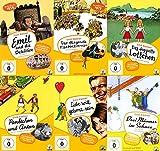 Erich Kästner - Die schönsten Klassiker - EMIL & DIE DETEKTIVE + DAS FLIEGENDE KLASSENZIMMER + PÜNKTCHEN & ANTON + DAS DOPPELTE LOTTCHEN + LIEBE WILL GELERNT SEIN + DREI MÄNNER IM SCHNEE 6 DVD Collection