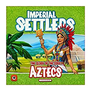 Wydawnictwo Portal POP00367 Imperial Settlers: Aztecs - Juego de Mesa (Contenido en alemán)