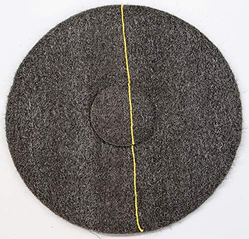 Schleifvliesscheibe aus Stahlwolle, zum Kristallisieren, Polieren, Reinigen (18-zoll-kamin)