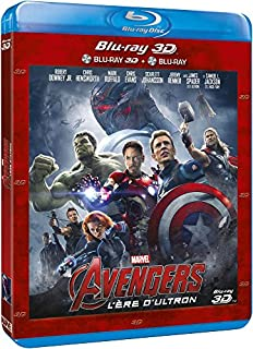 Avengers : L'ère d'Ultron 3D + Blu-Ray 2D (B00WGV0DS0) | Amazon price tracker / tracking, Amazon price history charts, Amazon price watches, Amazon price drop alerts