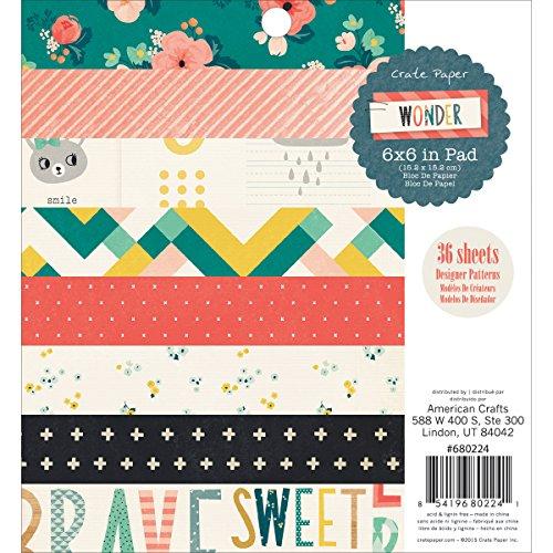 Love American Crafts 349460 24.9 x 15.2 x 3.3 cm Crate Paper Inserti Hello