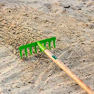 Antikas – For Children Rake Garden Rake Children Rake with Wooden Handle