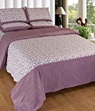Elegance Cotton Double Bedsheet with 2 p...