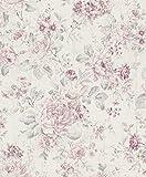Rasch paperhangings Wandtapete, rosa (12-teilig) (516029)