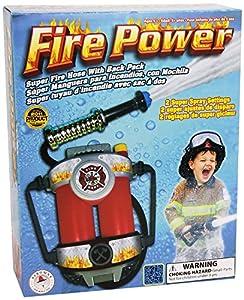 Aeromax Toys - La Potencia de Fuego de Super Manguera remojo Fuego Mochila Water Pistol (Juguetes) Importado de Inglaterra